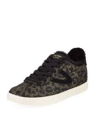Tretorn Callie Crackled Platform Sneakers