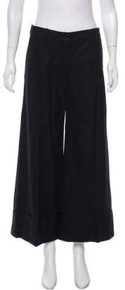 Nina Ricci Wool Mid-Rise Pants