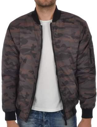 Soul Star Men's MA1 Camo Bomber Jacket