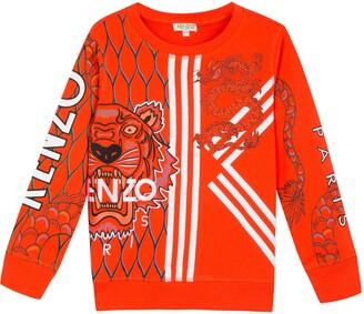 Kenzo Dragon Graphic Sweatshirt