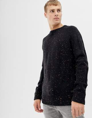 Brave Soul Multi Fleck Knit Sweater