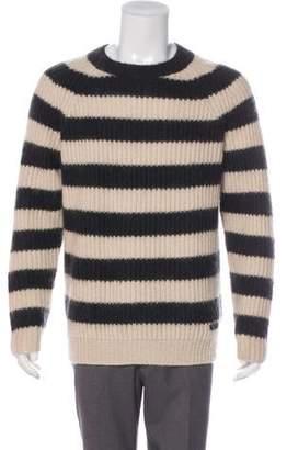 Burberry Striped Merino Wool & Mohair Sweater