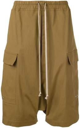 Rick Owens elasticated waist shorts