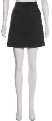 Theory Tweed Mini Skirt