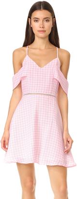 J.O.A. Cold Shoulder Dress $90 thestylecure.com