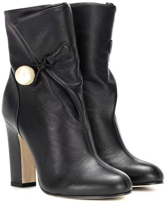 Jimmy Choo Bethanie 100 leather ankle boots