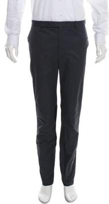 Balenciaga Two-Tone Flat Front Pants w/ Tags