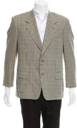 Valentino Silk & Wool-Blend Blazer