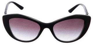 Bvlgari Cat-Eye Gradient Sunglasses