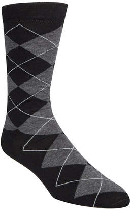 Cole Haan Men's Classic Argyle Crew Socks