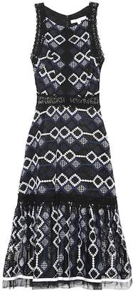 Jonathan Simkhai Embroidered midi dress