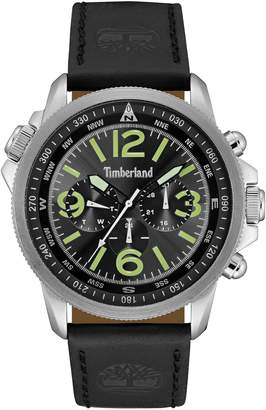 Timberland Men's Campton Leather Watch, 46mm