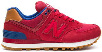 New Balance 574 Collegiate Pack Sneaker $80 thestylecure.com