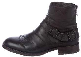 Belstaff Leather Ankle Boots