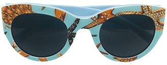 Versace Eyewear starfish sunglasses