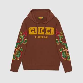 Gucci (グッチ) - グッチ〔ダッパー・ダン〕 オーバーサイズ スウェットシャツ