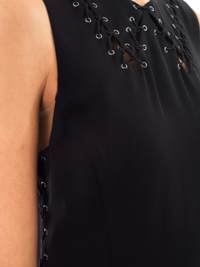 Rag and Bone Rag & Bone Lillian lace-up dress