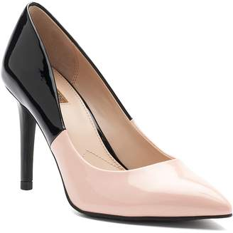 JLO by Jennifer Lopez Magnolia Women's Two-Tone High Heel Pumps