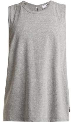 The Upside Sylvie Cross Back Tank Top - Womens - Grey