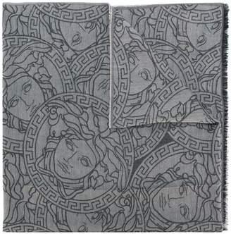 Versace all-over Medusa scarf