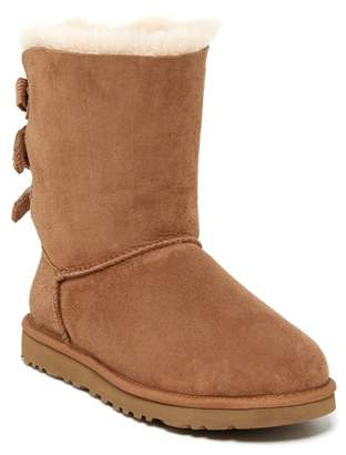 UGG Bailey Bow Corduroy Genuine Shearling Fur Boot