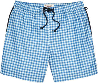Original Penguin GINGHAM SWIM TRUNK