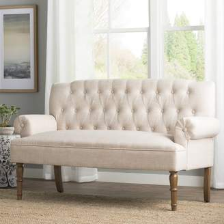 Charlton Home Barryknoll Chesterfield Settee Upholstery