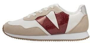 Violeta BY MANGO Contrast panel sneakers