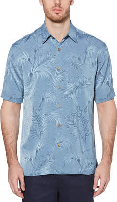 Cubavera Big & Tall Subtle Floral Jacquard Shirt