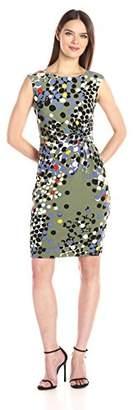 Anne Klein Women's Side Twist Knit Dress