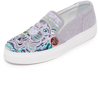 KENZO Kenzo Tiger Slip On Sneakers $180 thestylecure.com