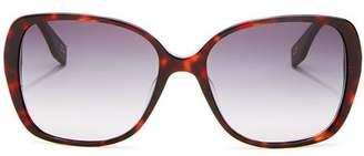 Marc Jacobs Women's Square Sunglasses, 56mm