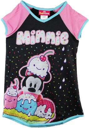 Disney Minnie Ice Cream Big Girls Nightgown, Kids
