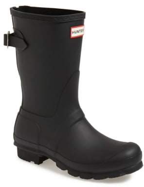 Hunter Short Back Adjustable Rain Boot