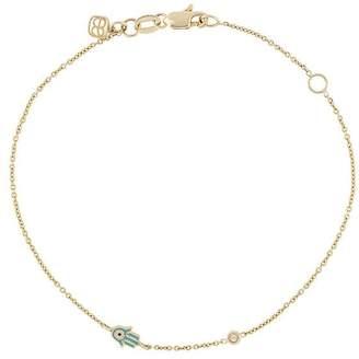 Sydney Evan hand charm bracelet