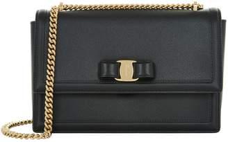 Salvatore Ferragamo Medium Vara Chain Shoulder Bag