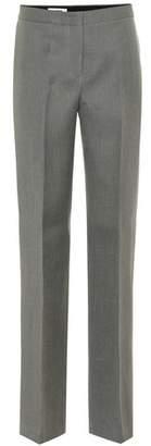 Jil Sander Wool mid-rise straight pants