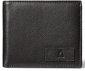Leather Architect Men's 100% Leather RFID Blocking Classic Trifold Wallet ()