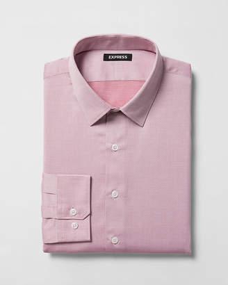 Express Extra Slim Dobby Dress Shirt