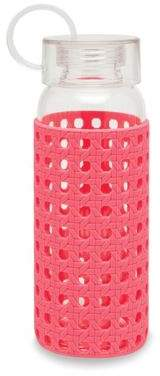 Kate Spade Coral Caning Water Bottle