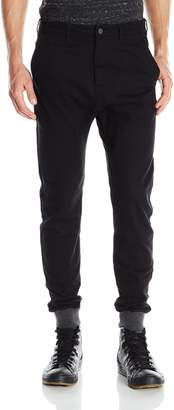 Zanerobe Men's Dynamo Chino Jogger Pant with Knit Cuff