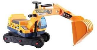 NEW Big Fun Club Jesse Ride On Yellow Excavator