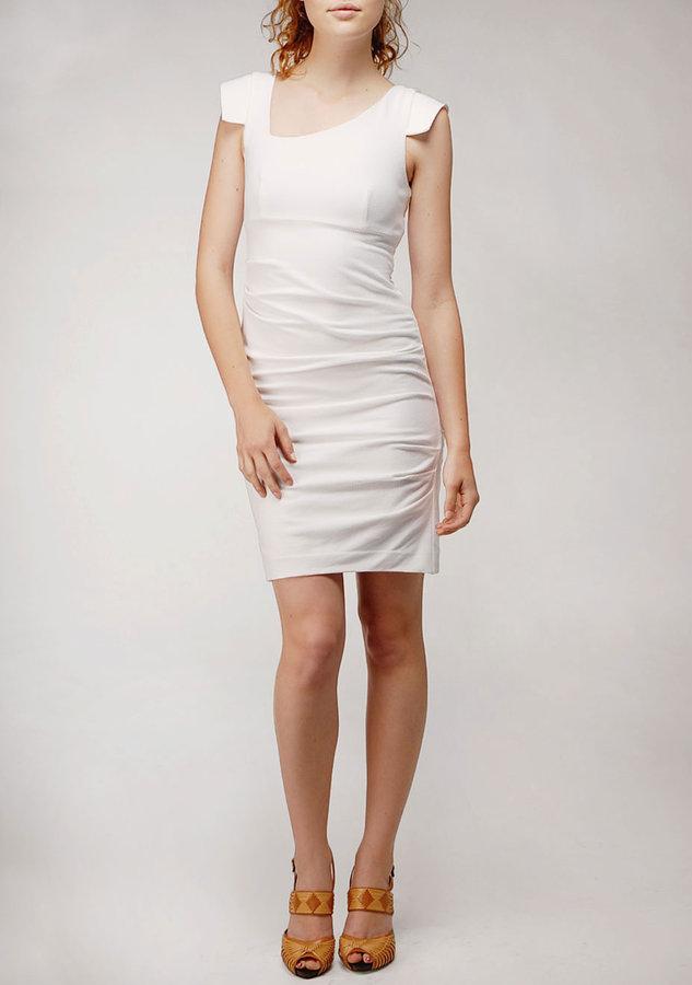 Stretch Pique Dress