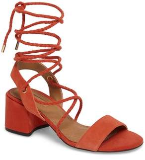 Topshop Nevada Lace-Up Sandal