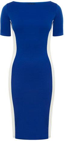 Dorothy Perkins Royal Blue illusion dress