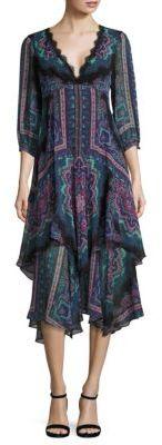 Nanette Lepore Janis Silk Dress $698 thestylecure.com