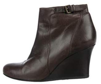 Lanvin Leather Ankle boots Black Leather Ankle boots