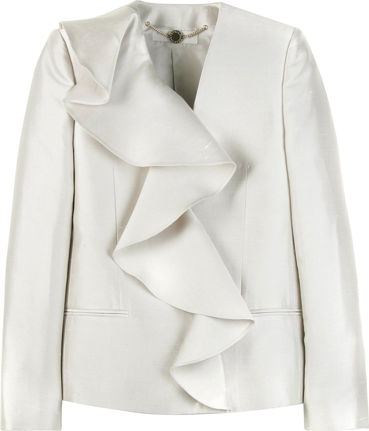 Stella Mccartney Frill Detail Blazer
