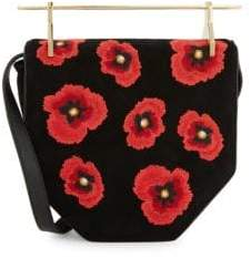 M2Malletier Amor Fati Leather Shoulder Bag