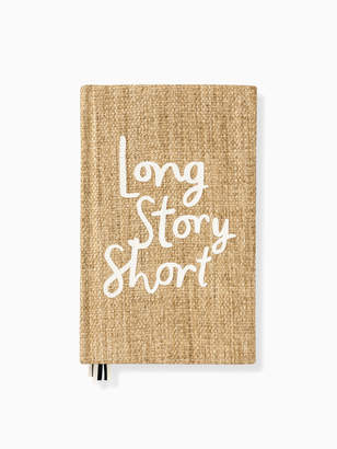Kate Spade Word to the Wise Long Story Short Journal